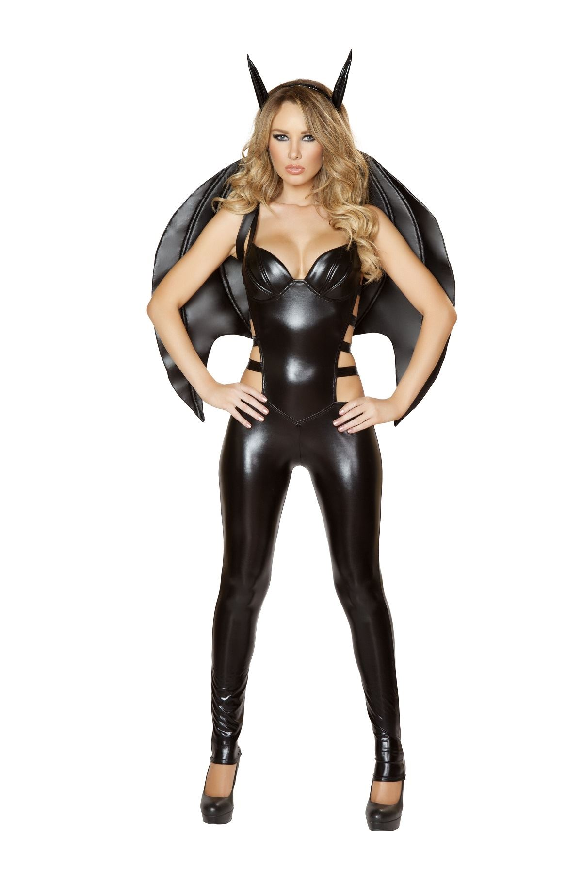 Adult Bat Woman Sexy Superhero Costume ...  sc 1 st  The Costume Land & Adult Bat Woman Sexy Superhero Costume