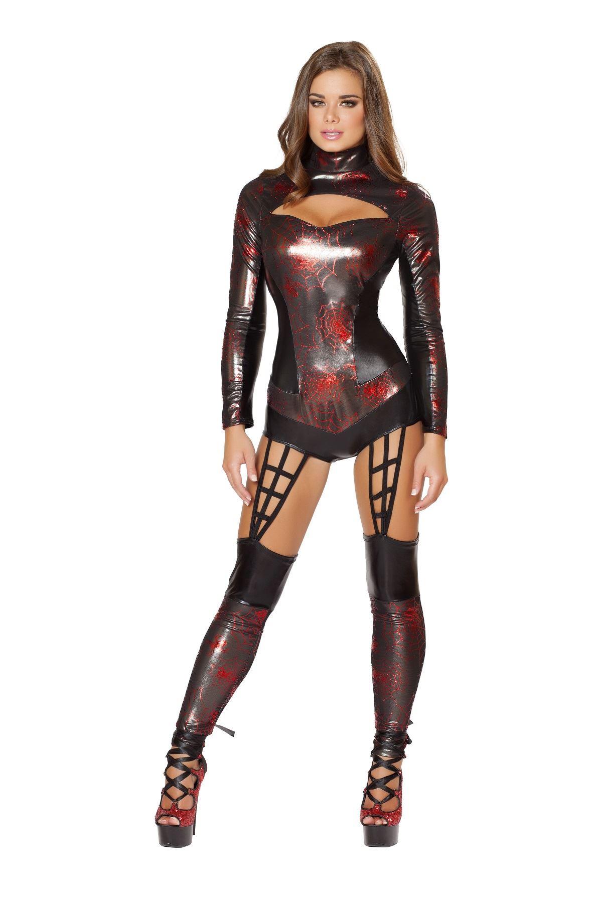Adult Web Spinner Superhero Woman Costume ...  sc 1 st  The Costume Land & Adult Web Spinner Superhero Woman Costume | $104.99 | The Costume Land