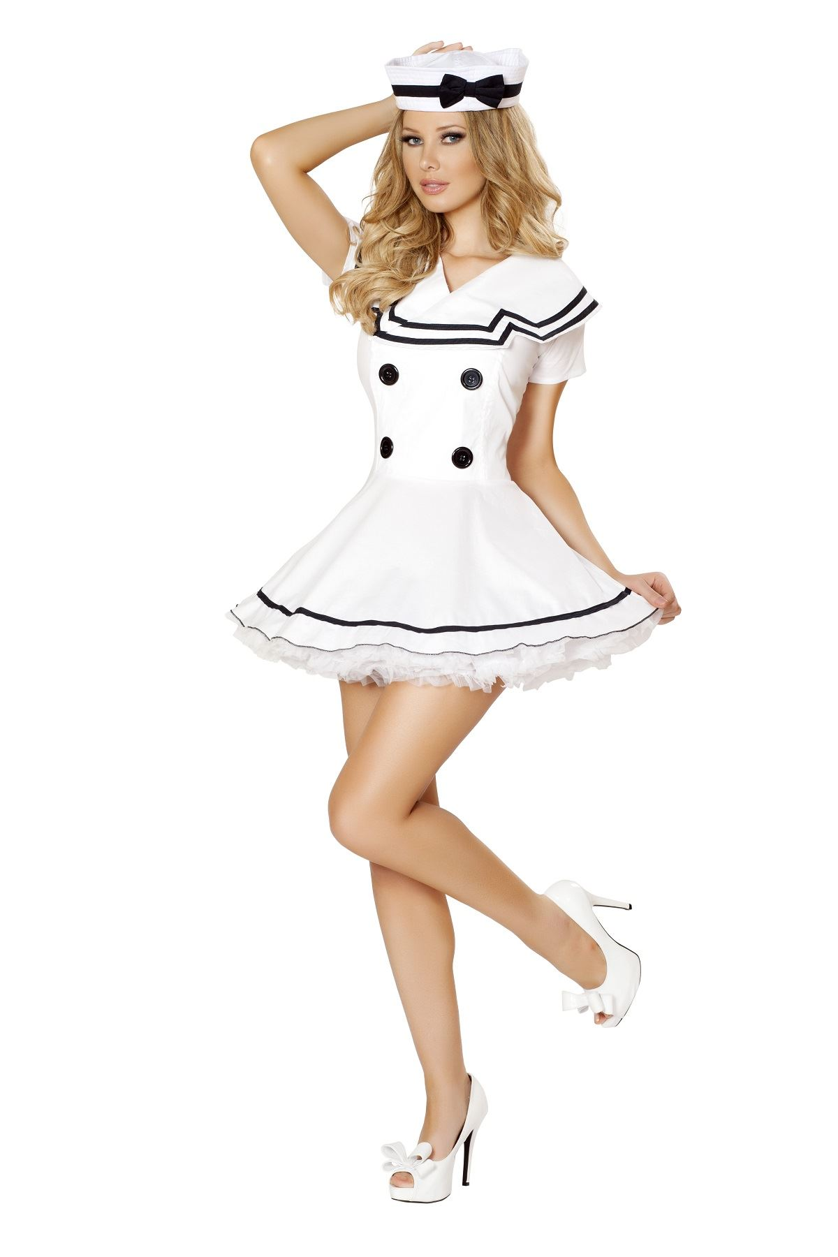 Adult Sailor Maiden Women Costume ...  sc 1 st  The Costume Land & Adult Sailor Maiden Women Costume | $67.99 | The Costume Land