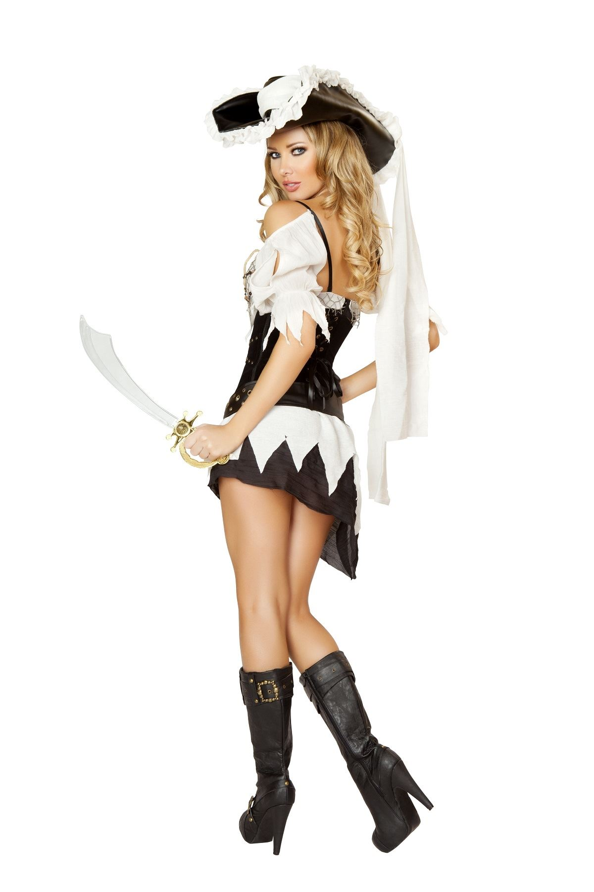 Adult Shipwrecked Pirate Woman Sailor Costume Adult Shipwrecked Pirate Woman Sailor Costume  sc 1 st  The Costume Land & Adult Shipwrecked Pirate Woman Sailor Costume   $95.99   The Costume ...