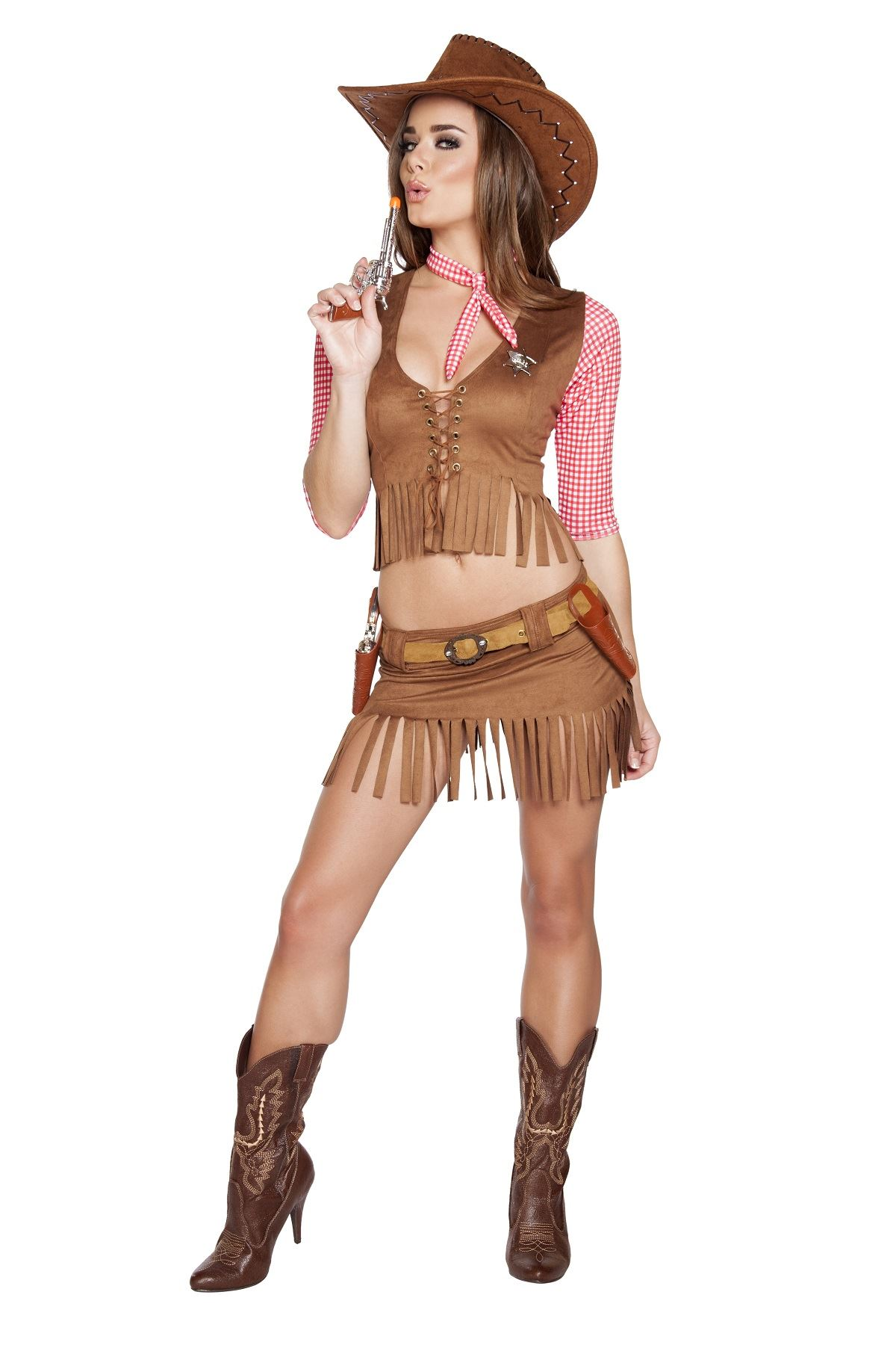Adult Cowboy Western Country Cutie Woman Costume ...  sc 1 st  The Costume Land & Adult Cowboy Western Country Cutie Woman Costume | $65.99 | The ...