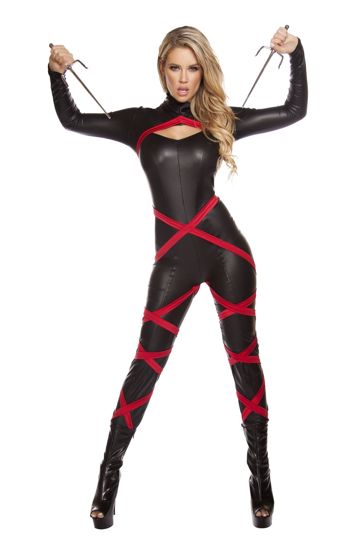 adult naughty ninja catsuit woman costume 7099 the