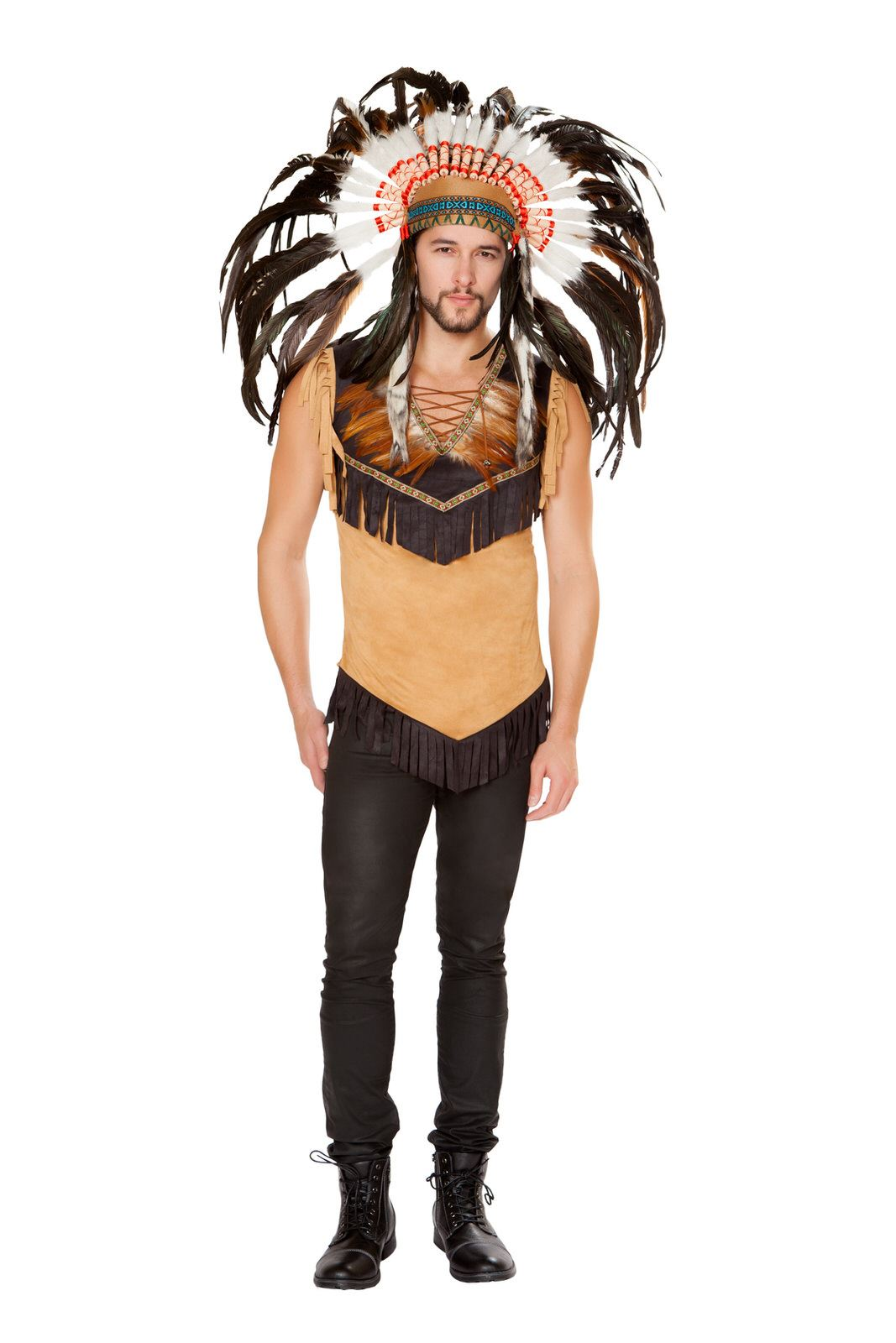 Adult Native Indian Men Costume ...  sc 1 st  The Costume Land & Adult Native Indian Men Costume | $38.99 | The Costume Land