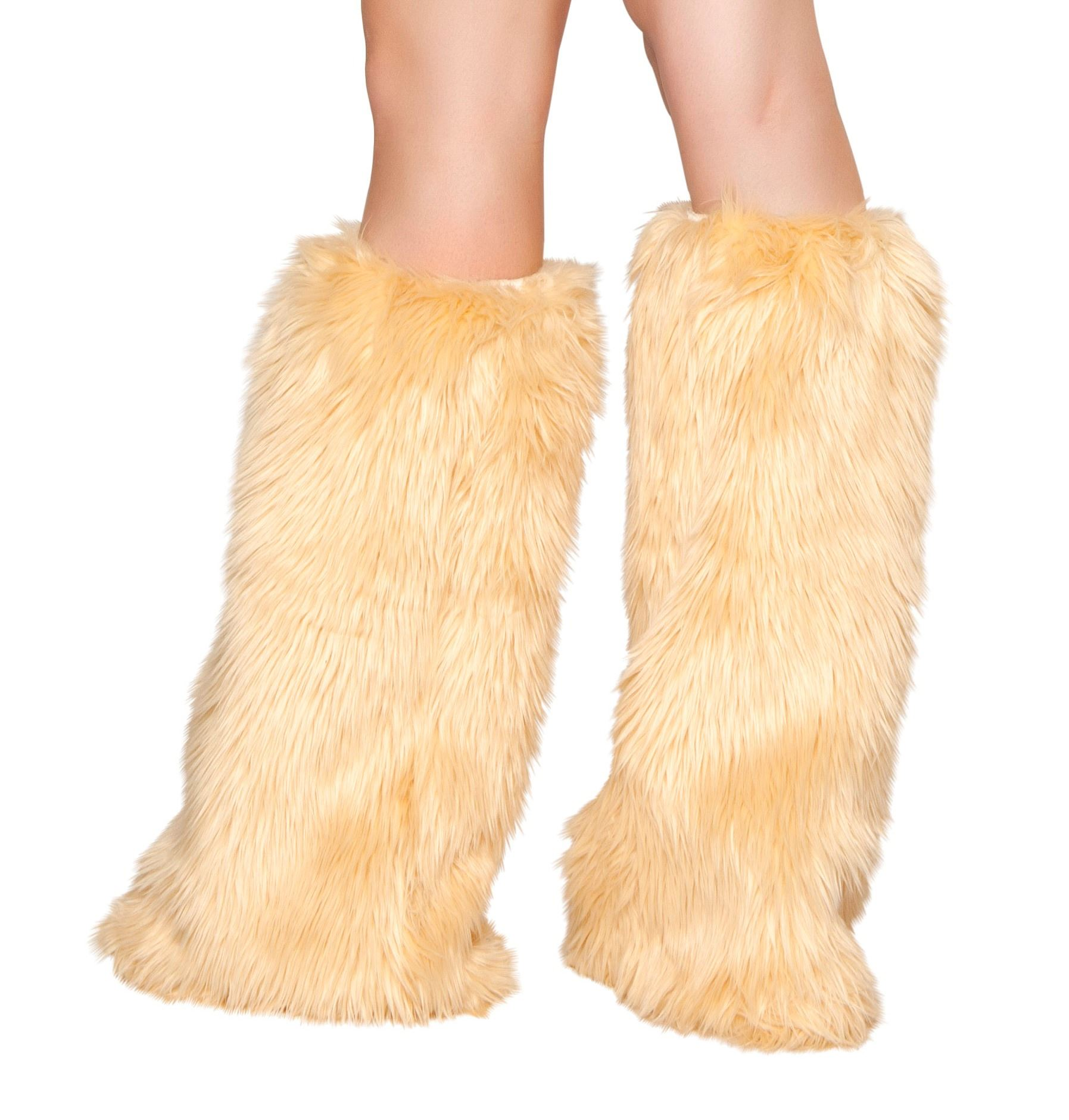 Adult Deluxe Fur Leg Warmer | $28.99 | The Costume Land