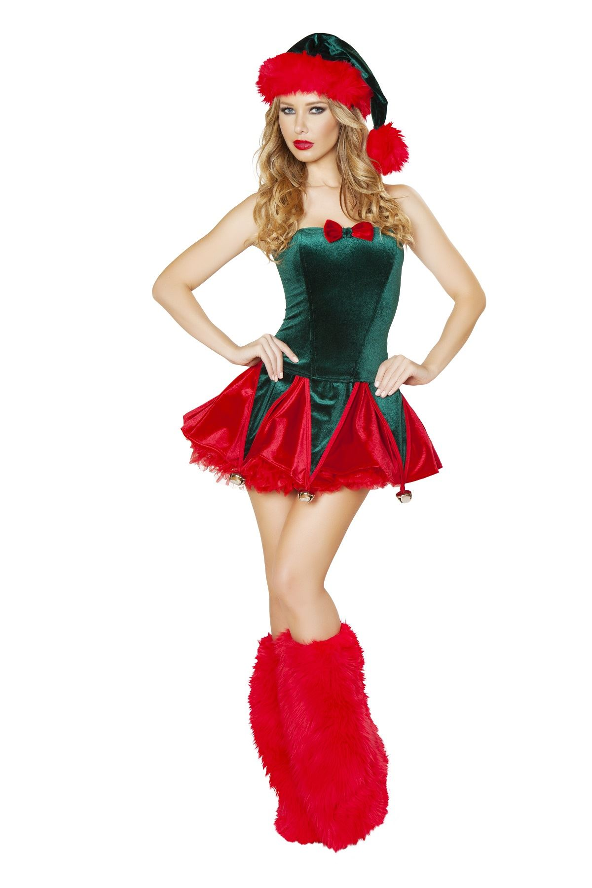 Adult Naughty Elf Woman Christmas Costume ...  sc 1 st  The Costume Land : women christmas costume  - Germanpascual.Com