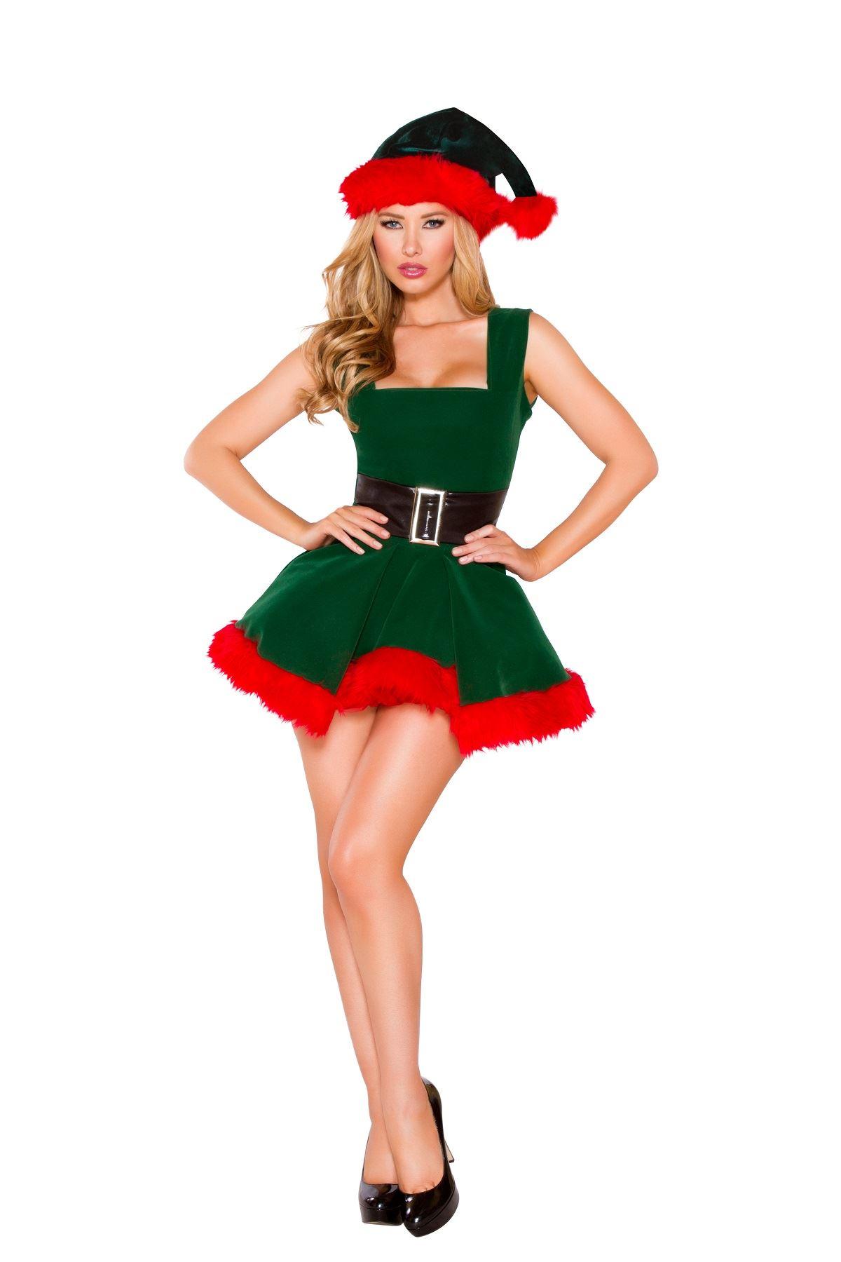 Adult Elf Woman Costume ...  sc 1 st  The Costume Land & Adult Elf Woman Costume   $87.99   The Costume Land