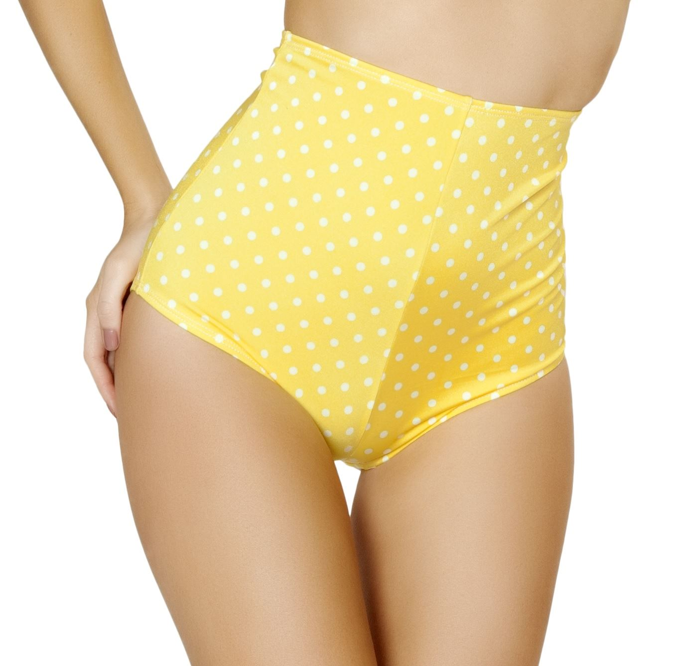 Polka Dot High Waisted Shorts
