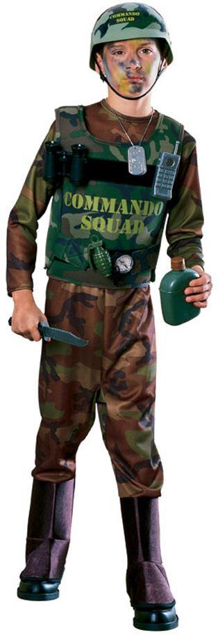 kids u s army commando boys costume