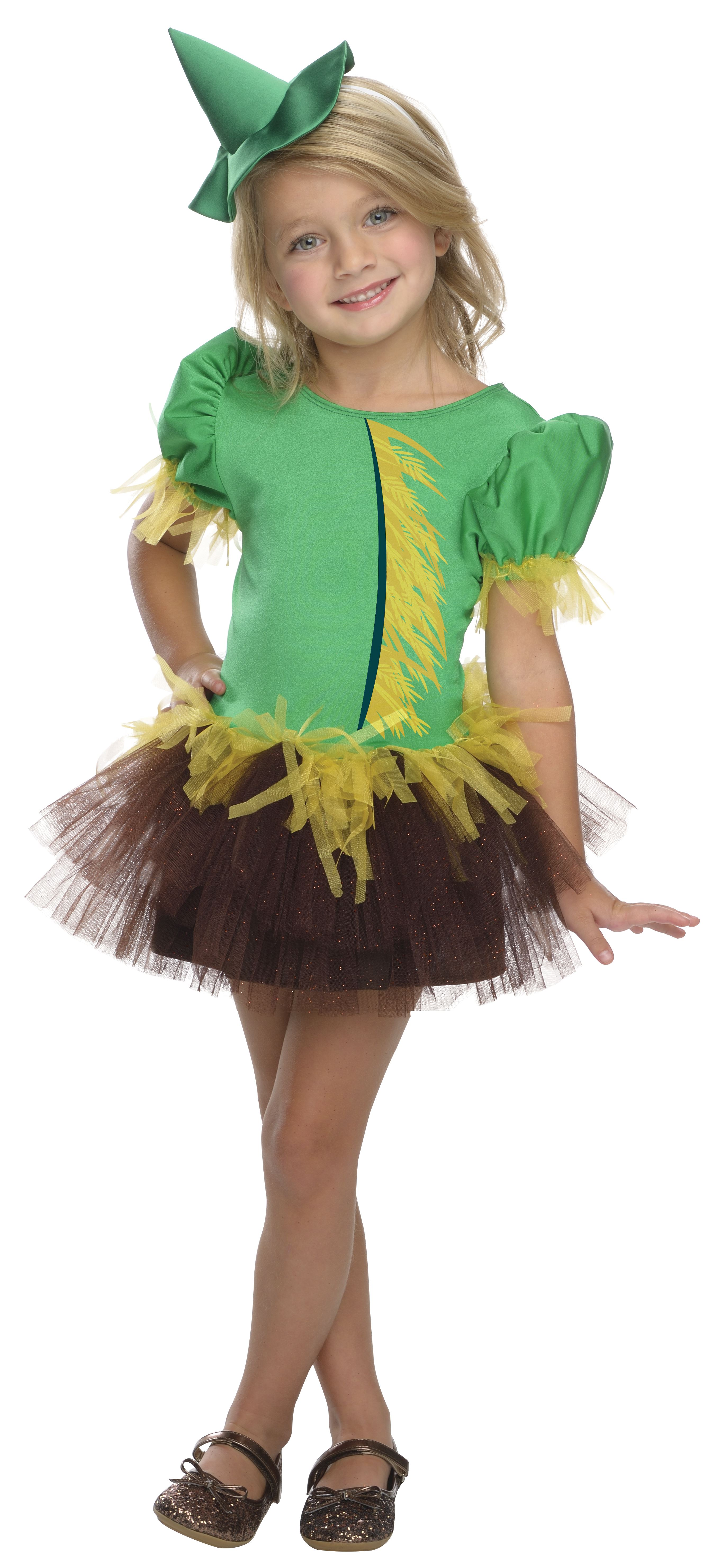Kids The Wizard Of Oz Scarecrow Girls Costume 3199 The Costume