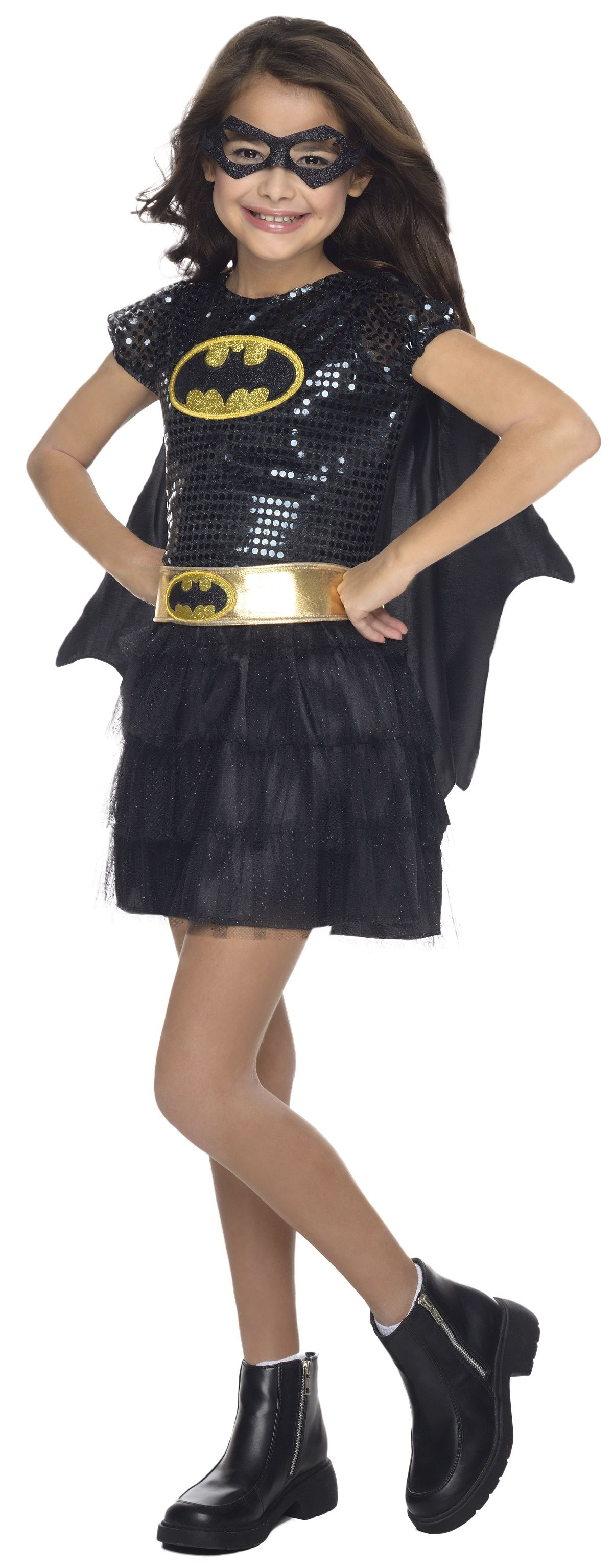 Kids batgirl girls super hero costume the for Halloween costume ideas for kids girls