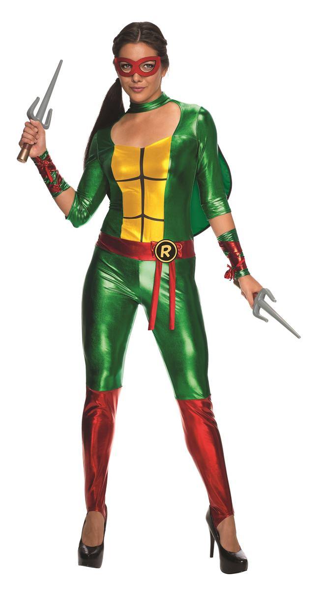 Ninja turtles halloween costumes for women
