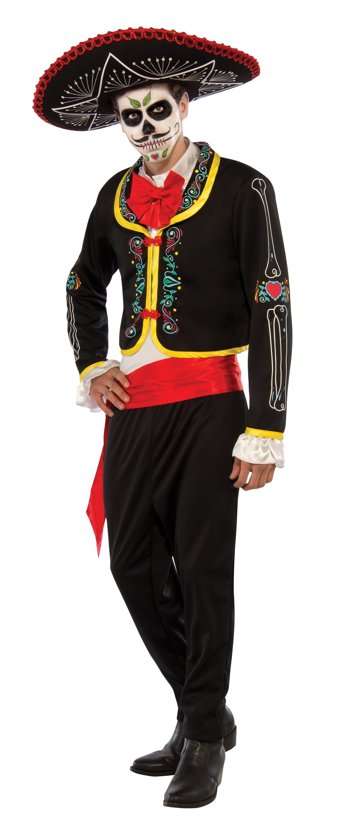adult day of the dead senior men costume 4899 the