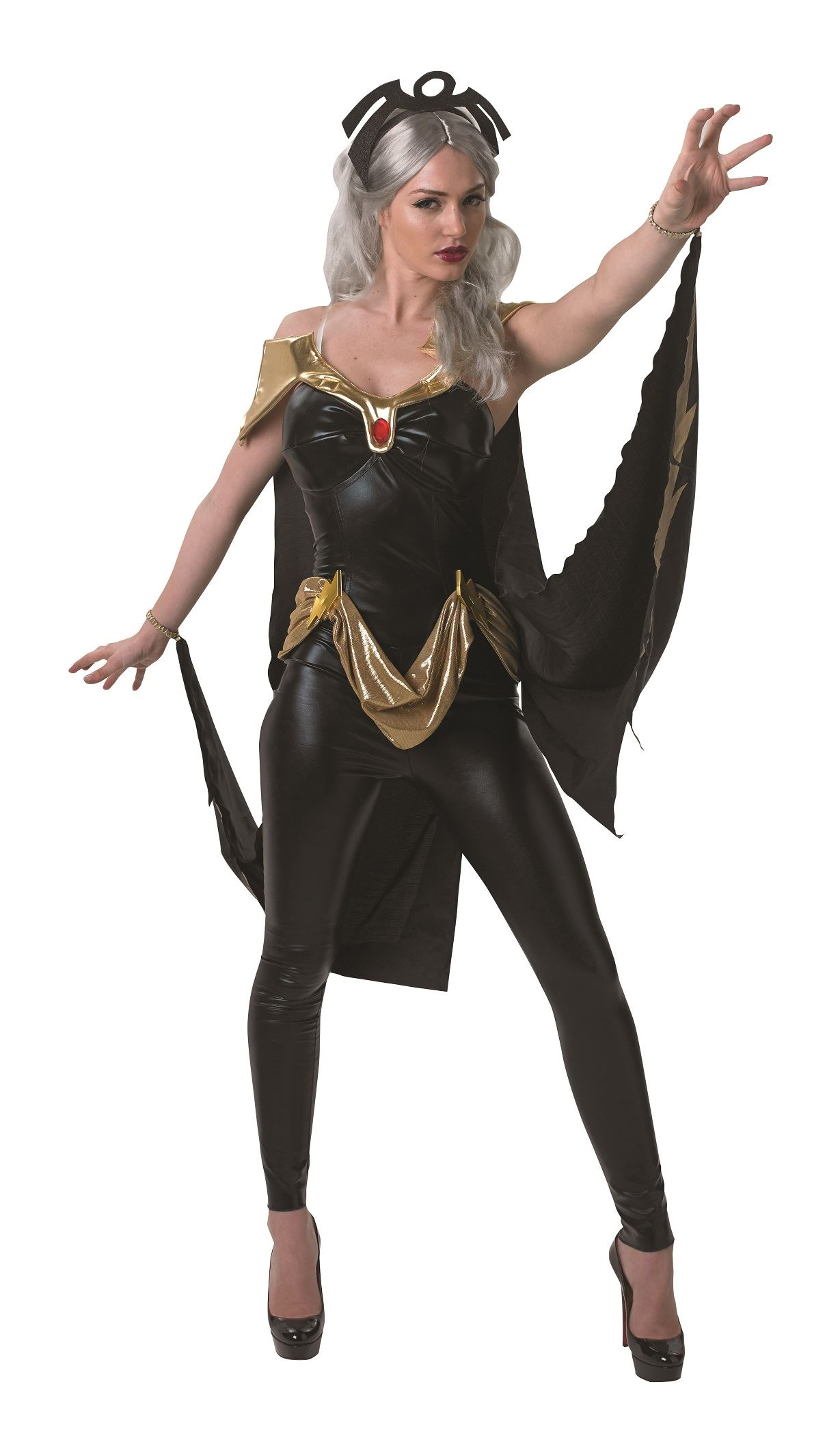 Adult Storm Woman Sexy Catsuit Costume  sc 1 st  The Costume Land & Adult Storm Woman Sexy Catsuit Costume | $45.99 | The Costume Land