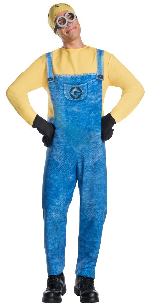 Adult Jerry Minion Men Costume  sc 1 st  The Costume Land & Adult Jerry Minion Men Costume | $34.99 | The Costume Land