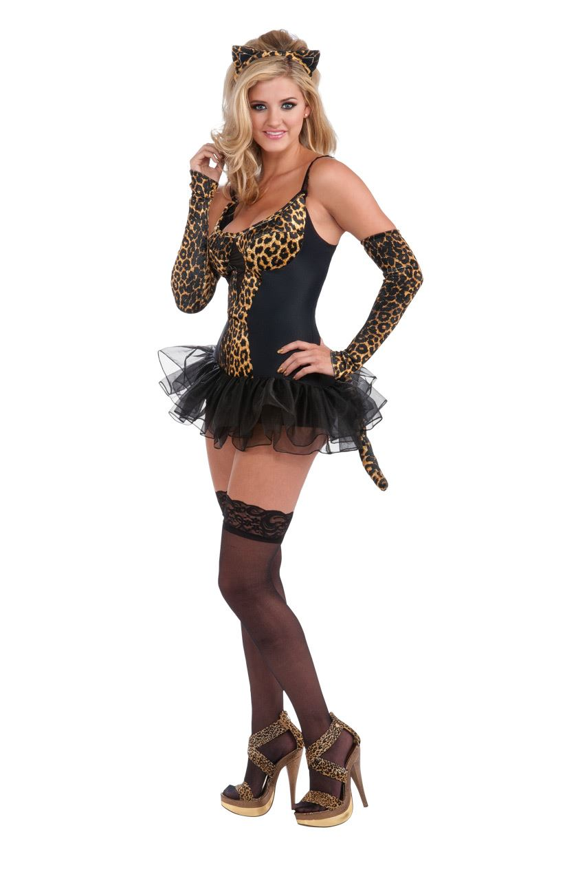adult leopard kitty woman costume | $36.99 | the costume land