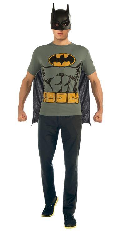Batman T Shirt Men Costume Kit  sc 1 st  The Costume Land & Teen Super Hero Costumes Halloween Costumes | Buy Teen Super Hero ...