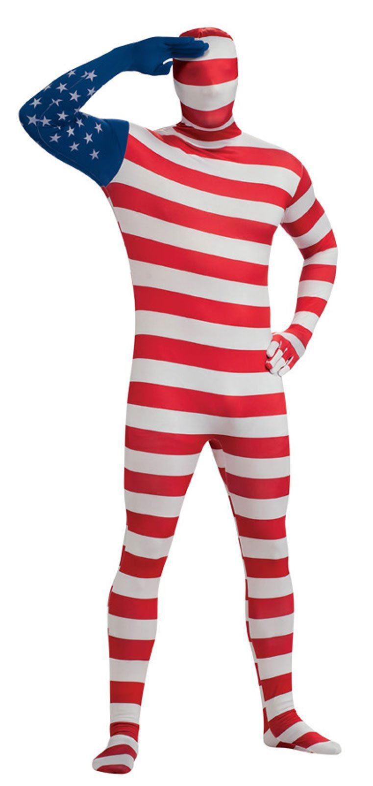 ... Adult American Flag Bodysuit Patriotic Costume. Click here to view  Large Image 12d23b4cf