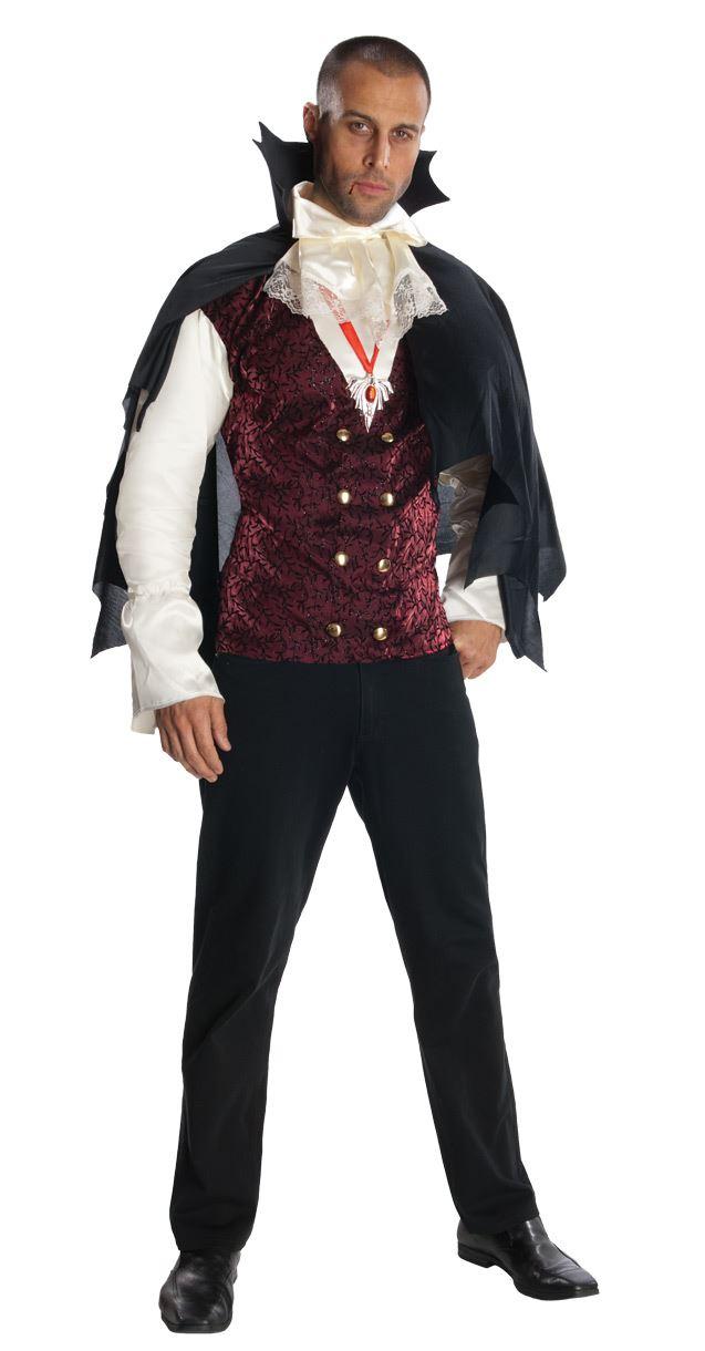 Adult Men V&ire Classic Halloween Costume  sc 1 st  The Costume Land & Adult Men Vampire Classic Halloween Costume | $21.99 | The Costume Land