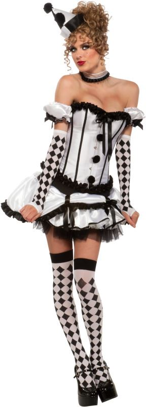 adult women deluxe harlequin costume - Halloween Costumes Harlequin