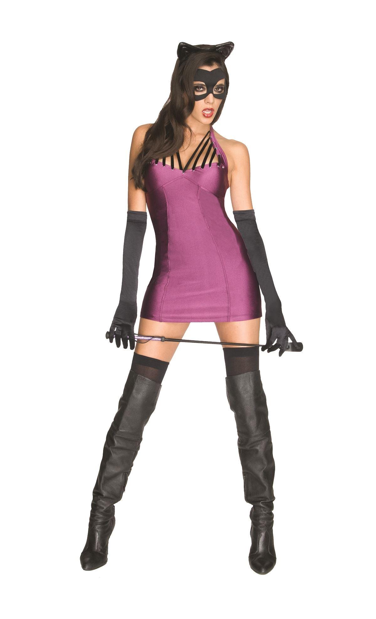 Adult Catwoman Dc Super Villians Women Costume  sc 1 st  The Costume Land & Adult Catwoman Dc Super Villians Women Costume | $47.99 | The ...