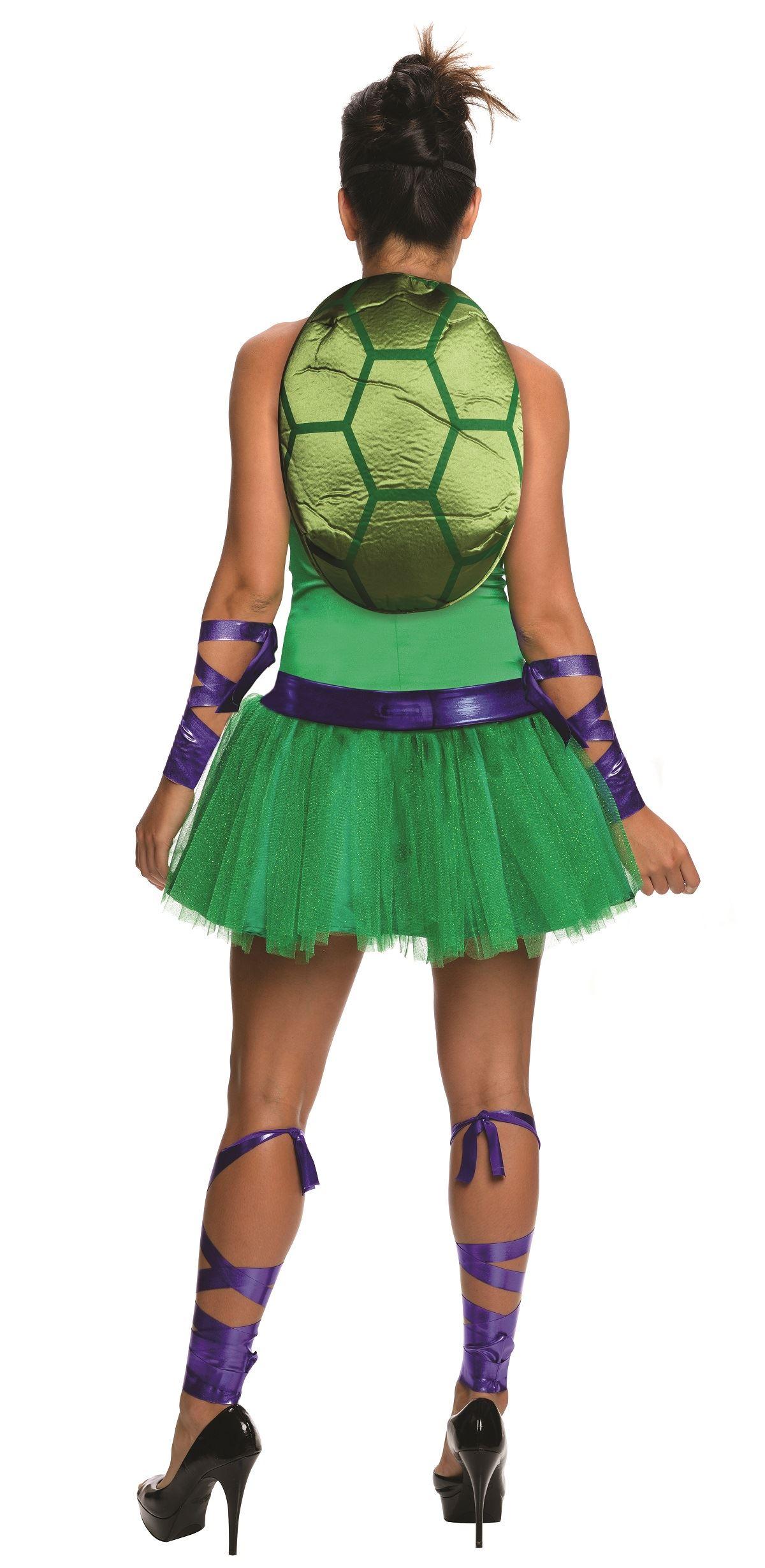 Adult Donatello Ninja Turtle Woman Costume 14 99 The Costume Land