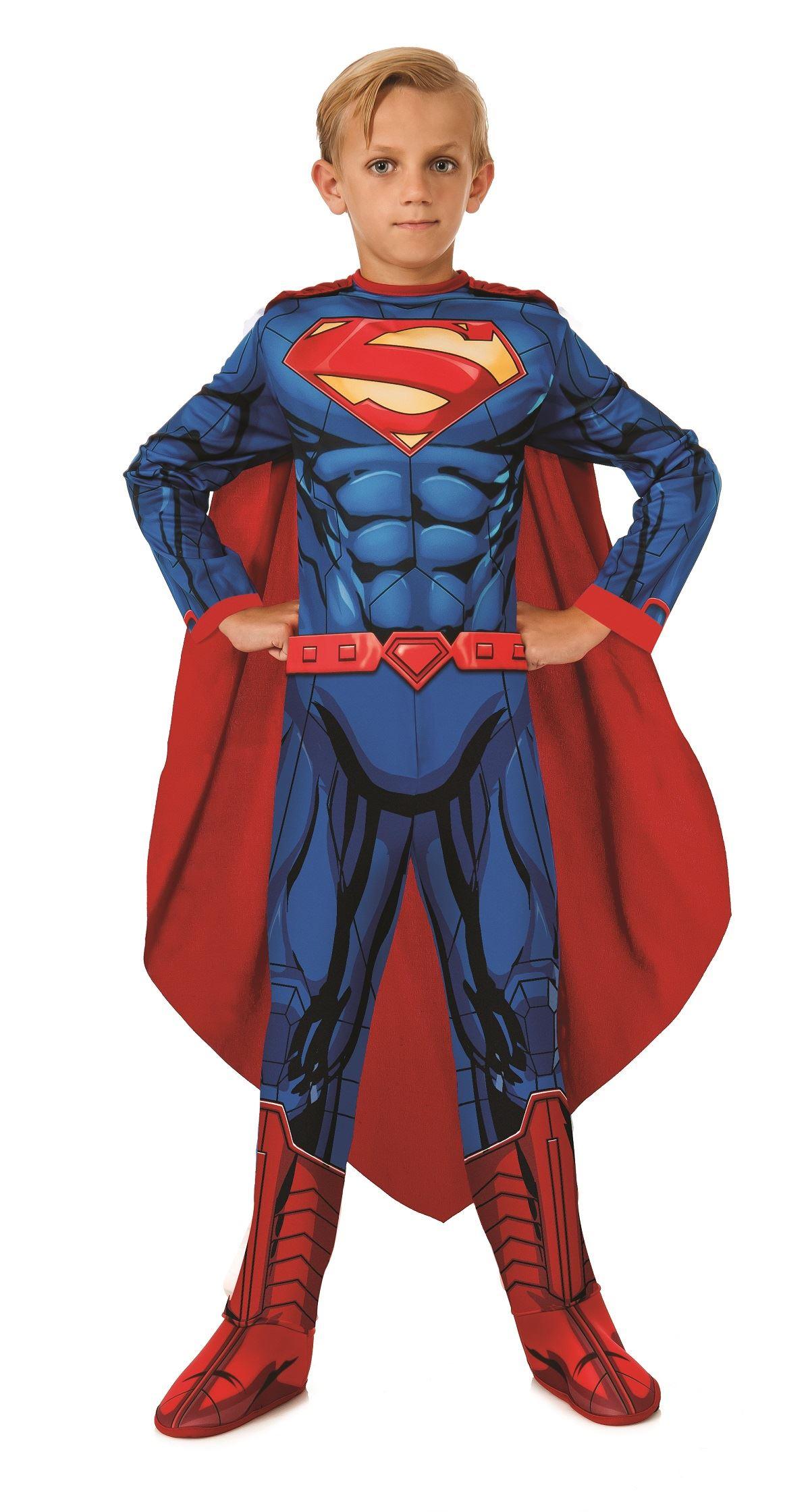 Kids DC Comics Superman Boys Costume