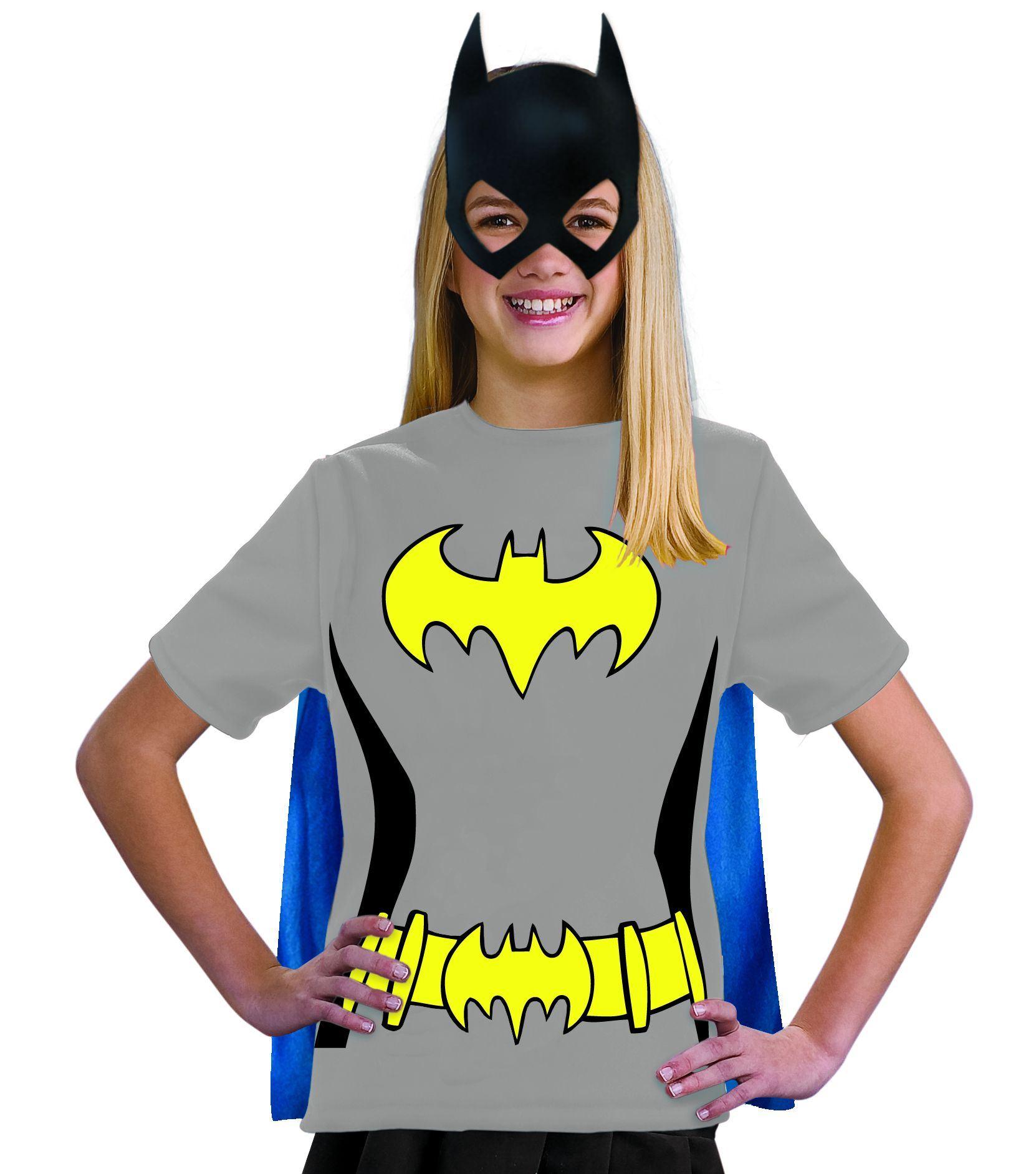 Kids Batgirl Tween Girl Shirt Costume  sc 1 st  The Costume Land & Kids Batgirl Tween Girl Shirt Costume | $28.99 | The Costume Land