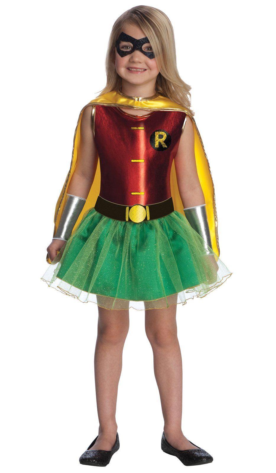 kids robin girl costume the costume land. Black Bedroom Furniture Sets. Home Design Ideas