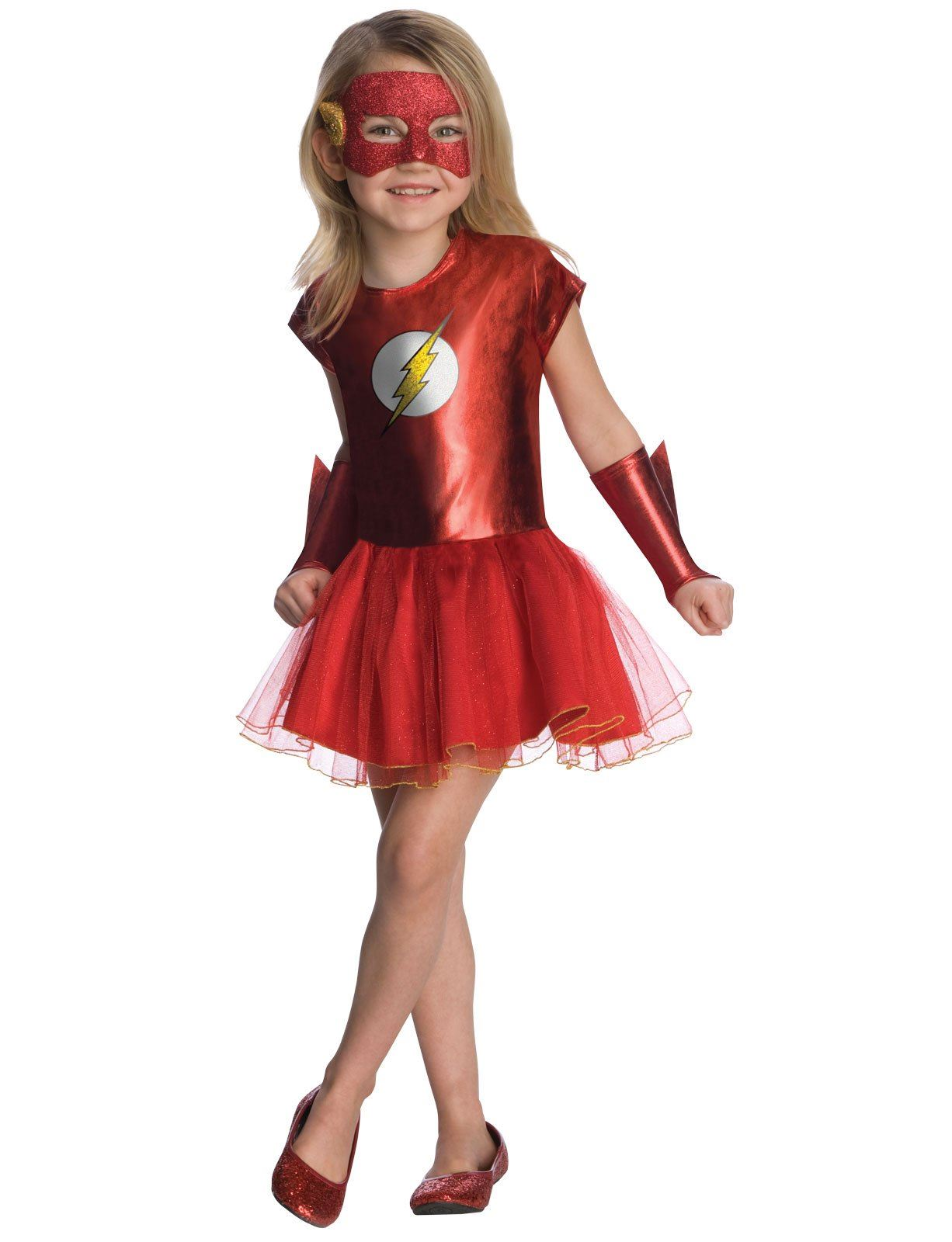 Kids Flash Girls Costume Land