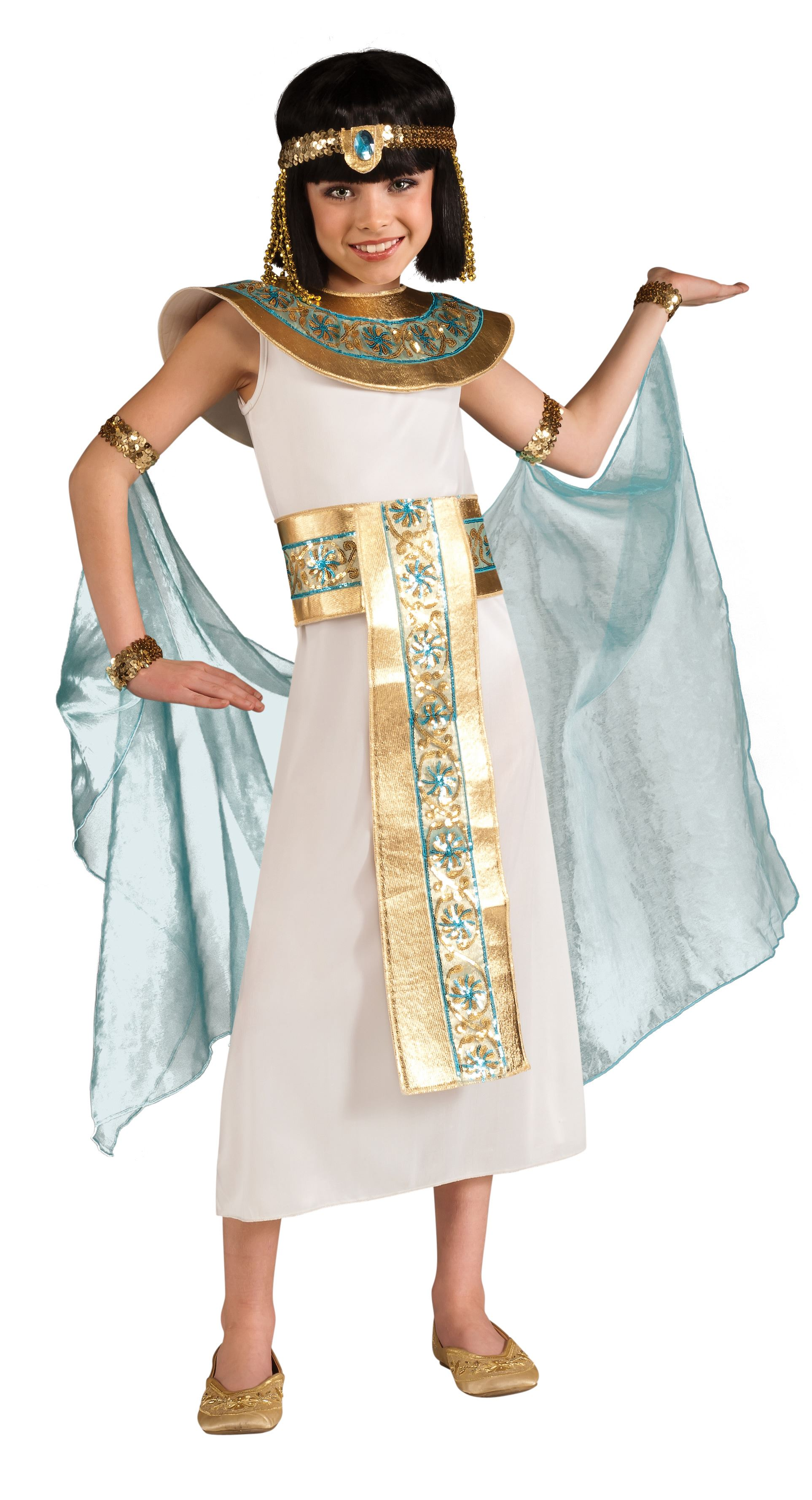 Kids Girls Cleopatra Costume  sc 1 st  The Costume Land & Kids Girls Cleopatra Costume | $24.99 | The Costume Land