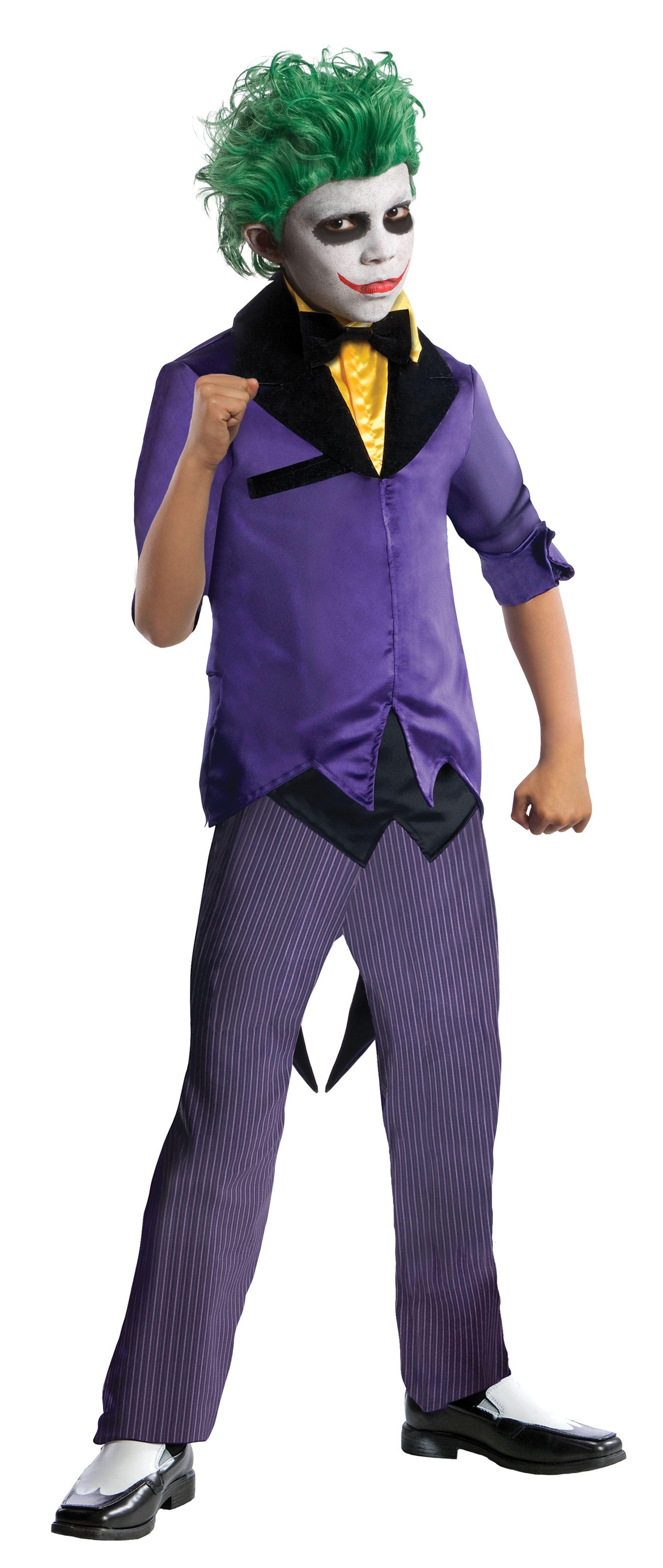 Kids Gothams Joker Super villain Boys Costume | $43.99 | The ...