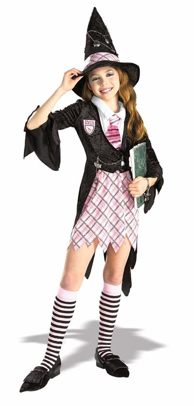Kids Charm School Witch Girls Costume | $21.99 | The Costume Land