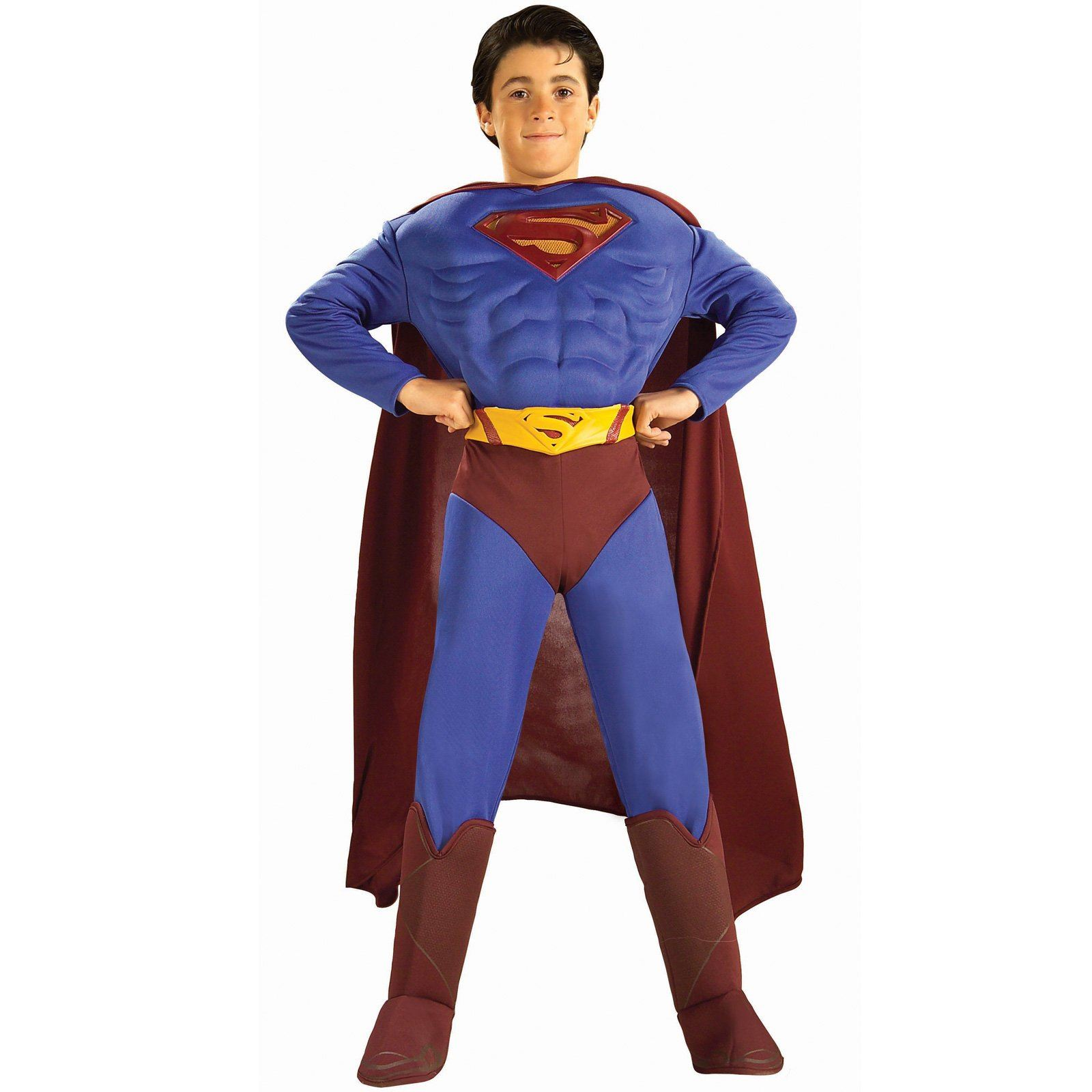 Superman Returns Costumes Superman Returns Deluxe Muscle