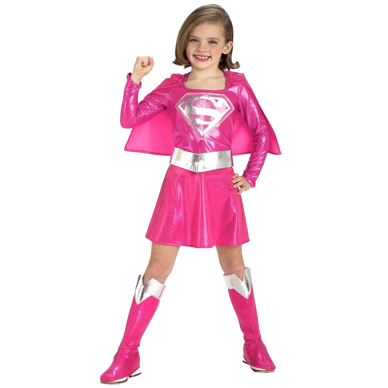 Kids Halloween Costumes Pictures Pink Super Girl Kids Halloween