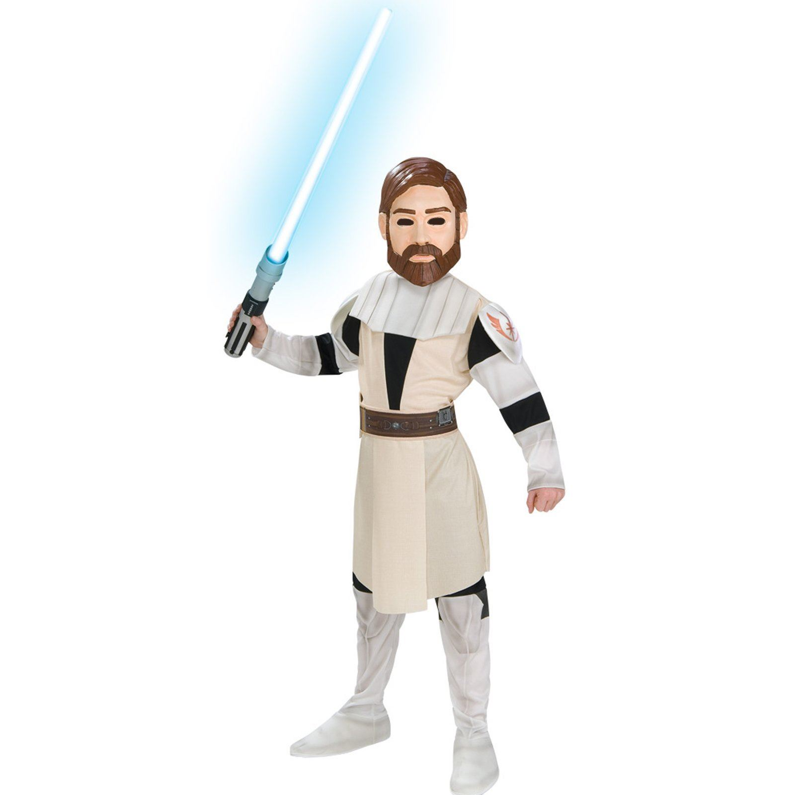 Star Wars Halloween Costumes.Kids Obi Wan Kenobi Boys Star Wars Costume
