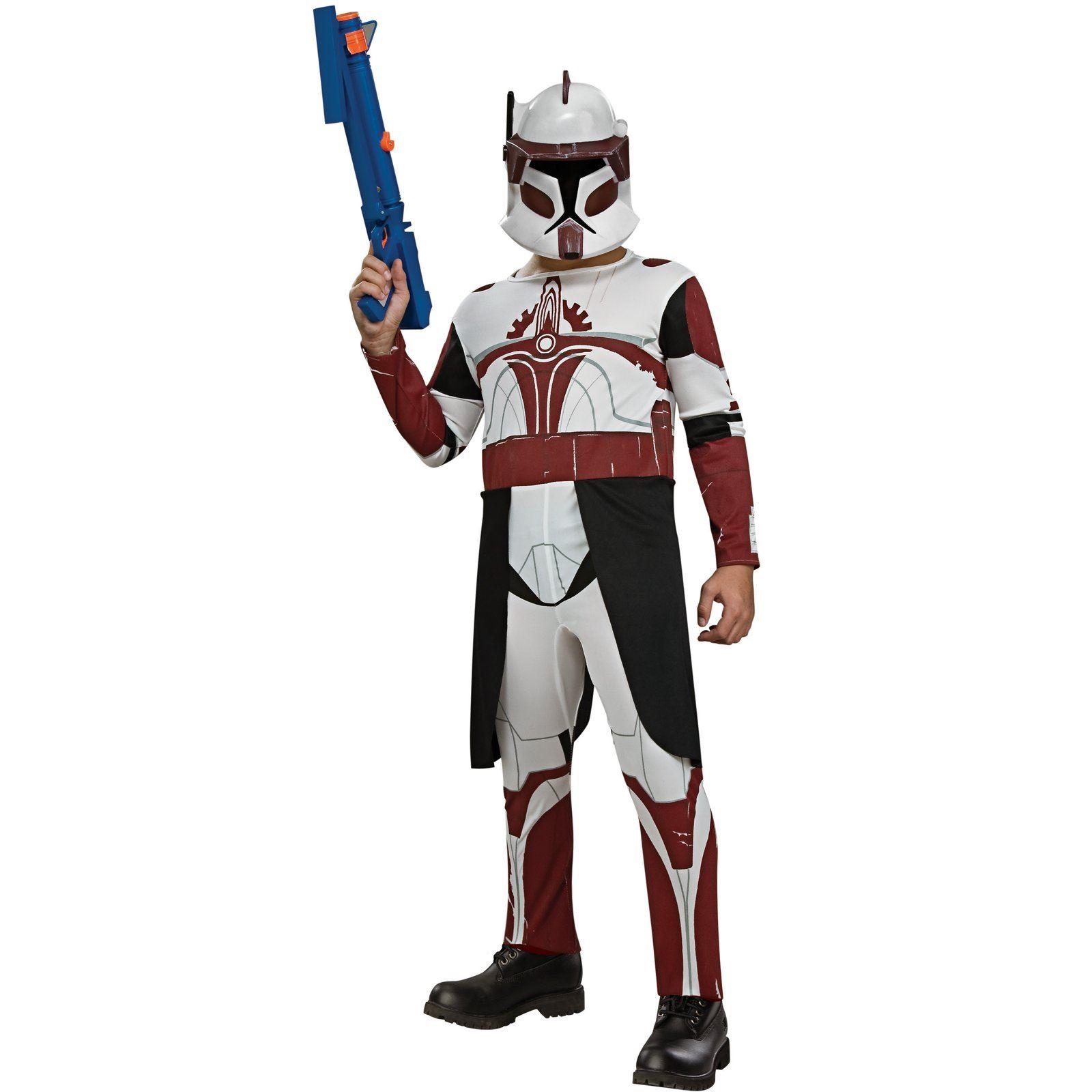Kids Clone Trooper Boys Commander Costume  sc 1 st  The Costume Land & Kids Clone Trooper Boys Commander Costume | $27.99 | The Costume Land