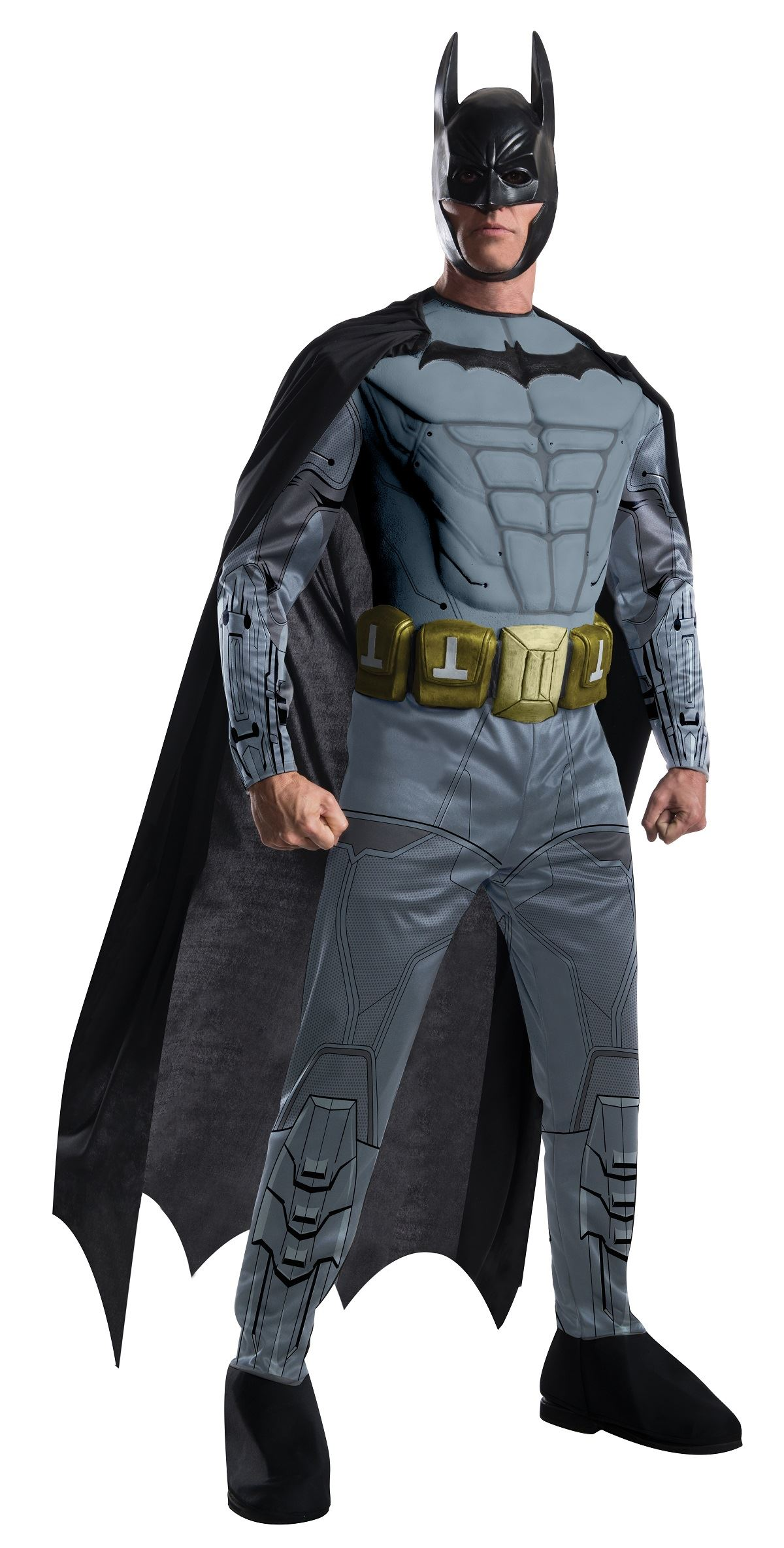 Adult Batman Arkham Batman Deluxe Costume  sc 1 st  The Costume Land & Adult Batman Arkham Batman Deluxe Costume | $63.99 | The Costume Land