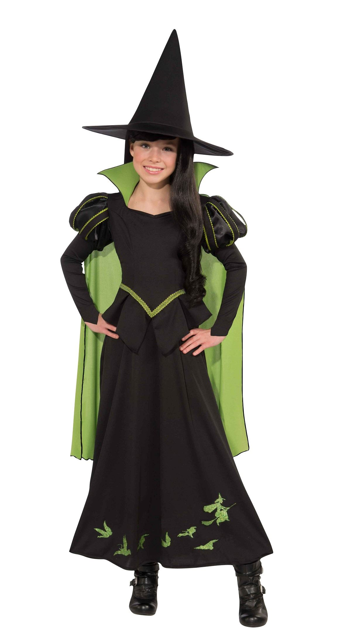 Kids Wicked Witch Of The West Girls Costume | $33.99 | The Costume ...