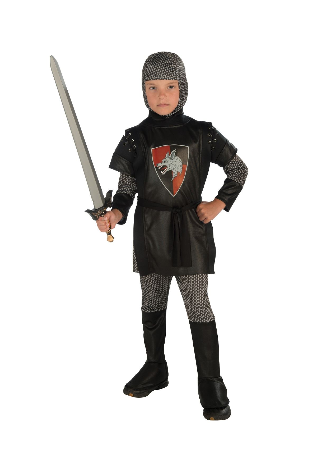 Kids Knight Boys Medieval Deluxe Costume 26 99 The Costume Land