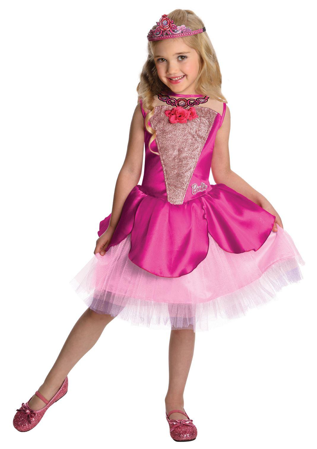 Kids Barbie Deluxe Kristyn Girls Costume