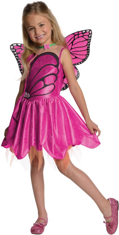 Barbie Mariposa Girls Halloween Costume