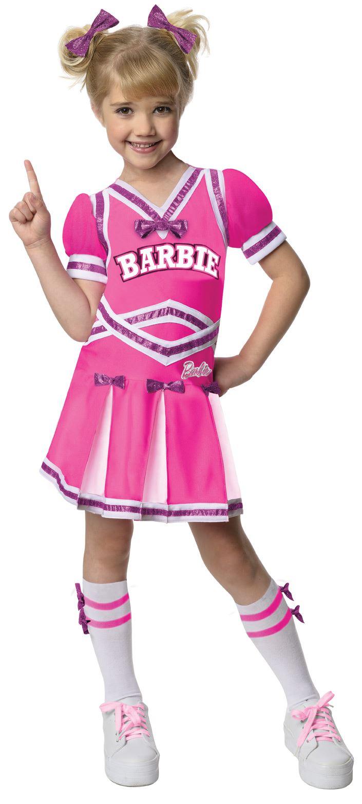 Kids Barbie Cheerleader Girls Costume | $28.99 | The Costume Land
