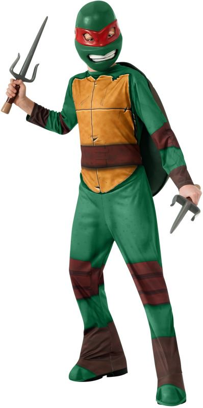 Kids Boys Raphael Mutant Ninja Turtle Costume | $33.99 ...