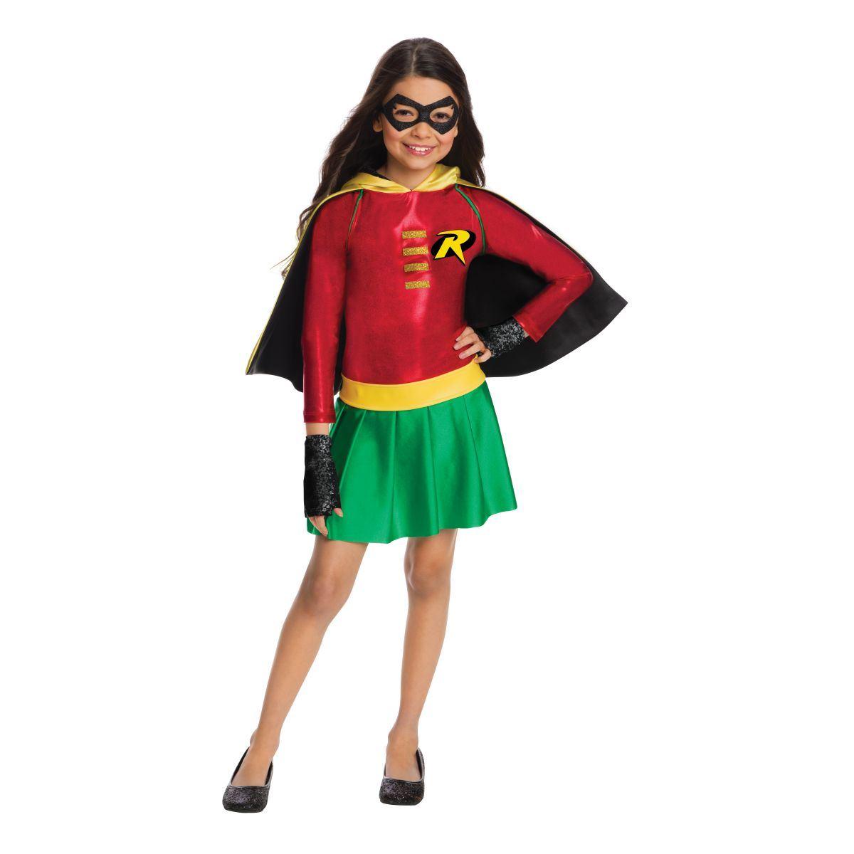 kids robin dress girls costume