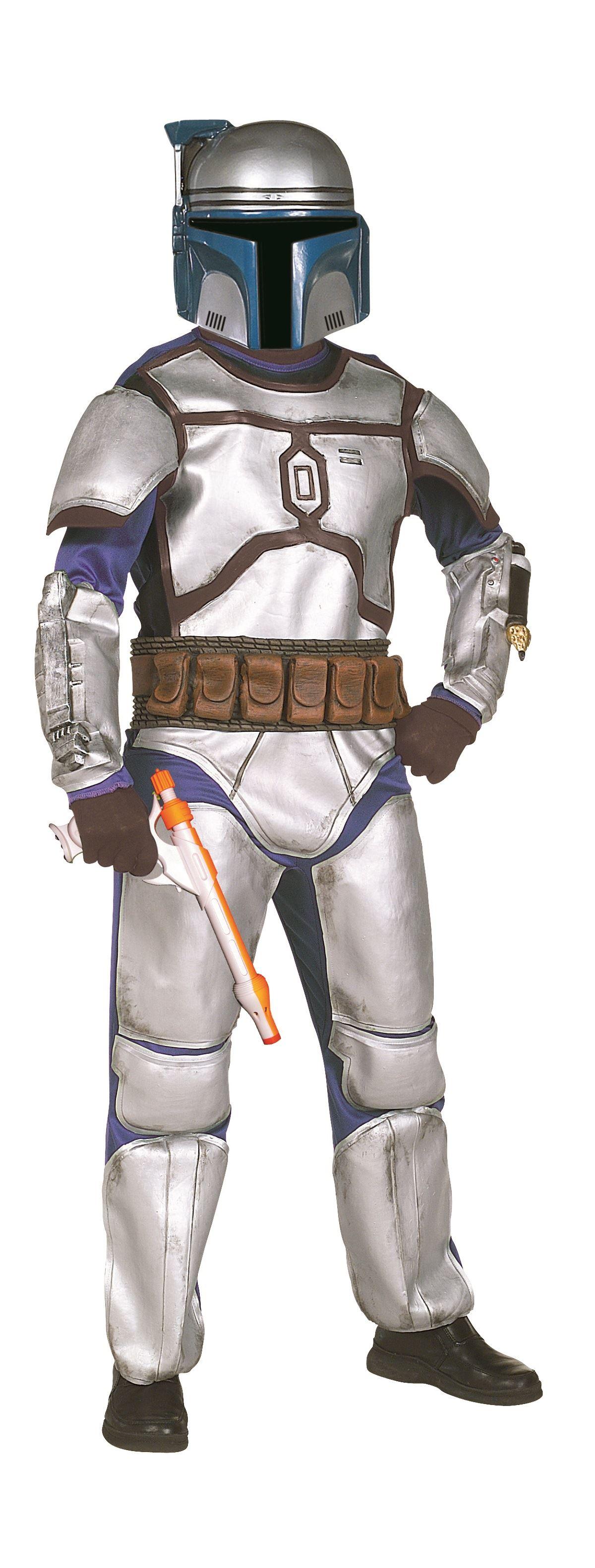 Kids Jango Fett Star Wars Deluxe Boys Costume   $67.99 ...