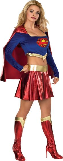 Adult Supergirl Woman Costume  sc 1 st  The Costume Land & Adult Supergirl Woman Costume | $57.99 | The Costume Land