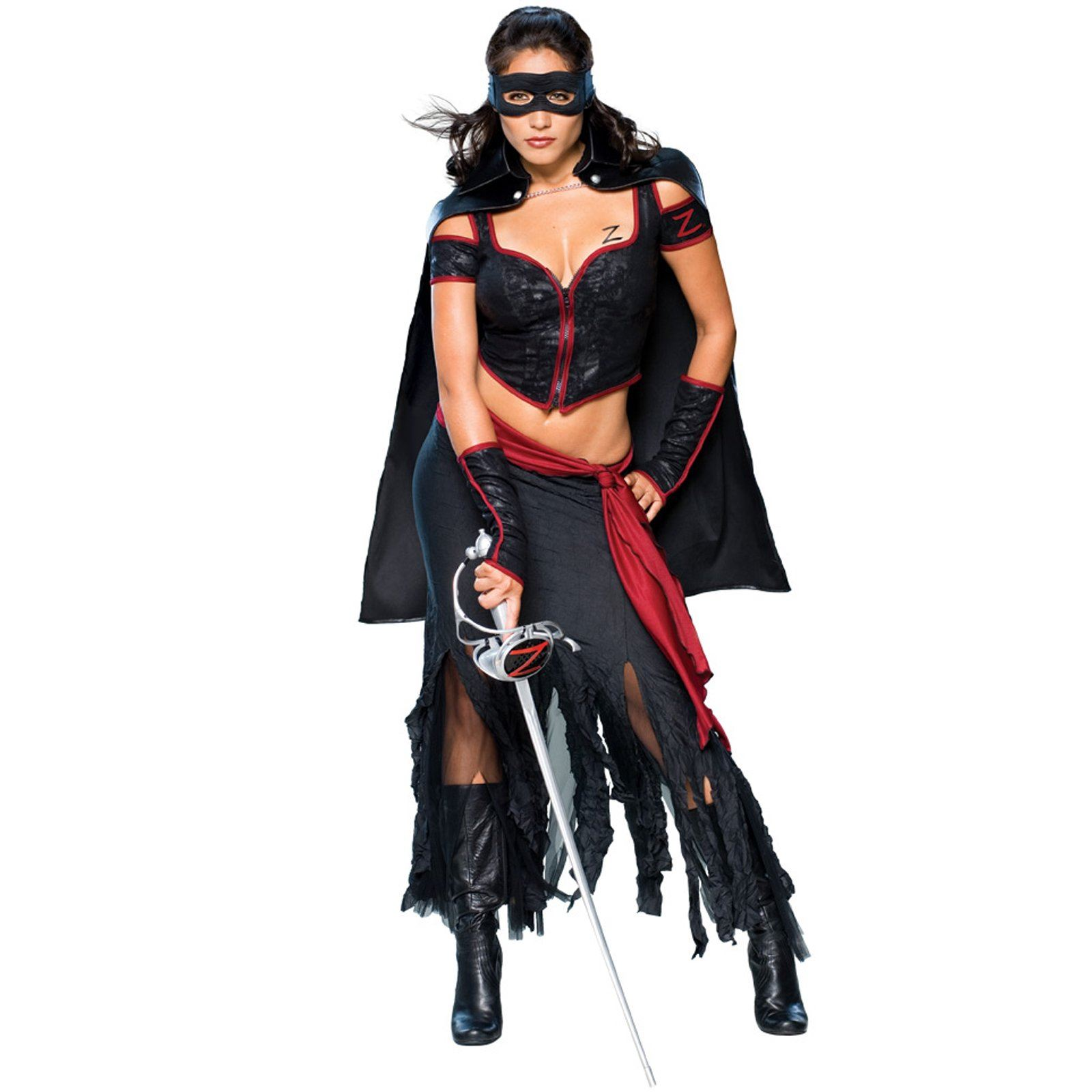 Adult Lady Zorro Deluxe Women Costume  sc 1 st  The Costume Land & Adult Lady Zorro Deluxe Women Costume | $60.99 | The Costume Land