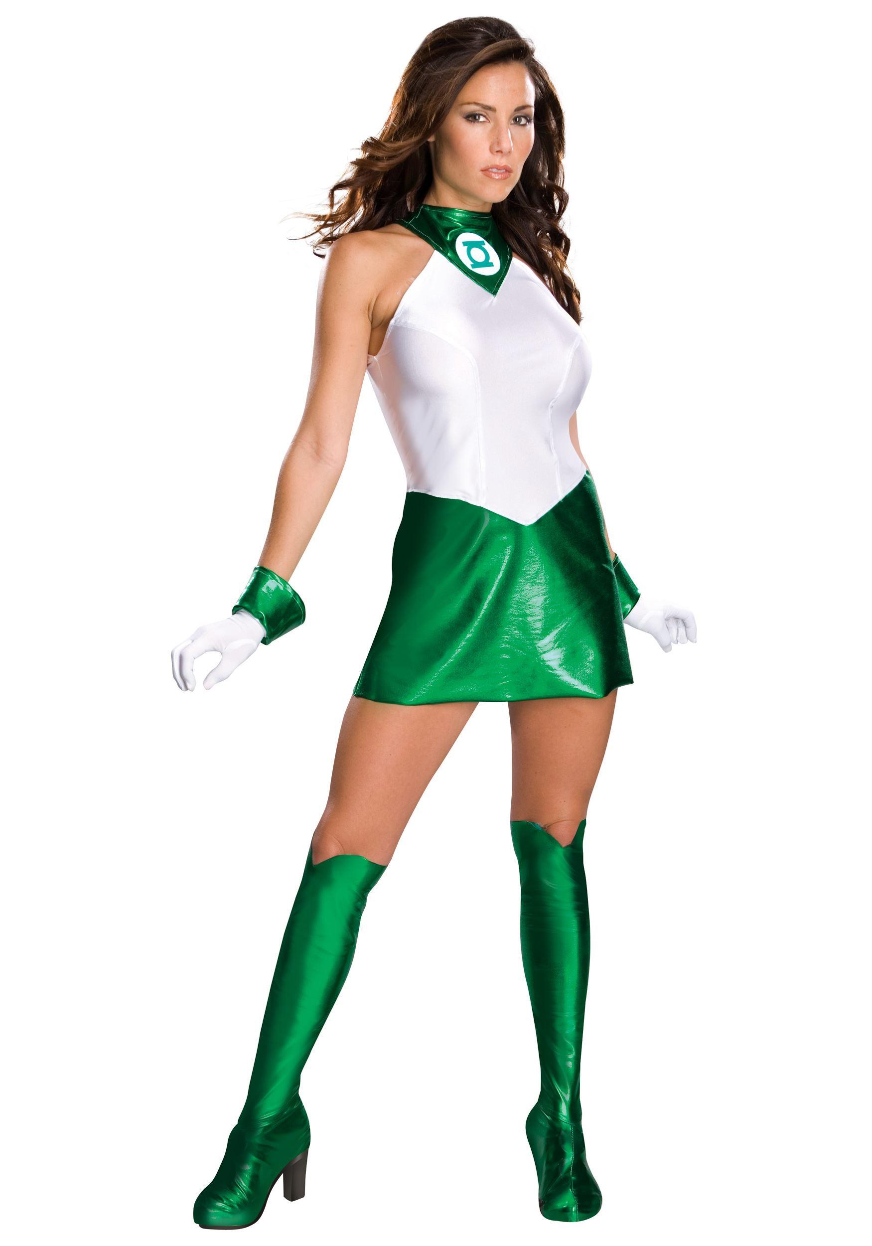 adult green lantern woman costume the costume land. Black Bedroom Furniture Sets. Home Design Ideas