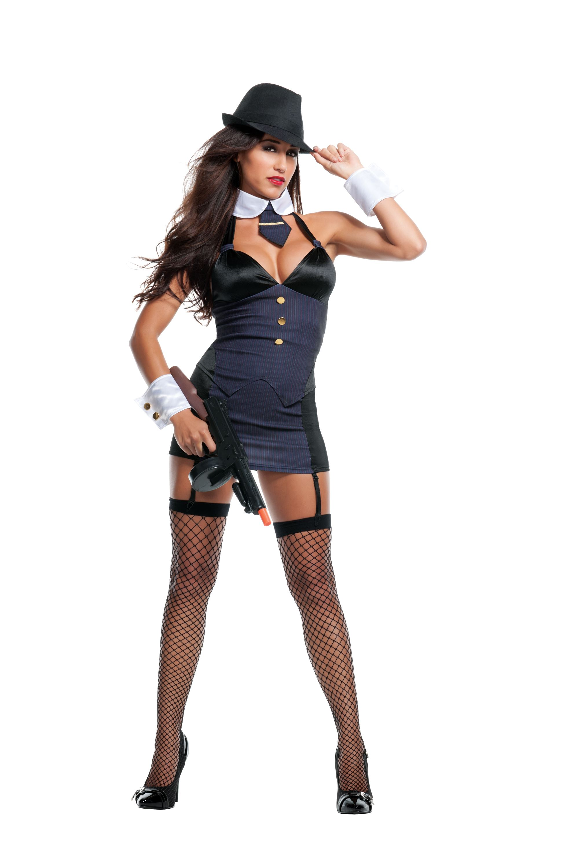Adult Bang Bang Gangster Woman Costume ...  sc 1 st  The Costume Land : gangster woman costume  - Germanpascual.Com