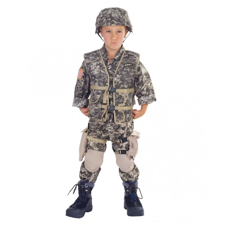 army ranger deluxe boys costume - Boys Army Halloween Costumes